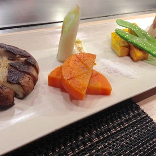 焼野菜ときのこ盛り合わせ(縁 )