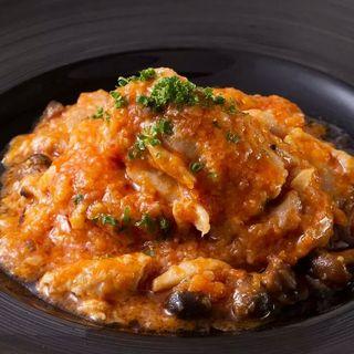 鶏肉のトマト煮込み(カツバル )
