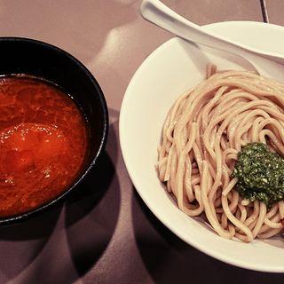海老トマトつけ麺(五ノ神製作所 )