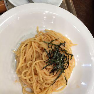 明太子スパゲッティ(トラベルカフェ アトレ亀戸店 (【旧ラストリゾートトラベルカフェ】))