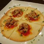 ツナとトマトのコカ(スペイン風ピザ)