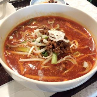 サンラー湯麺(蜀味苑)