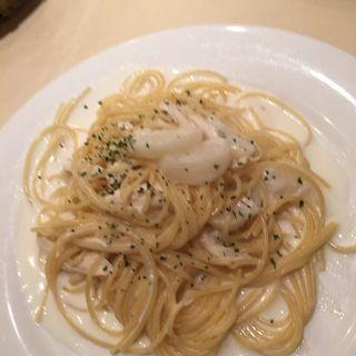 カブと蒸し鶏のクリームソース(ランチメニュー)(デル・ソーレ (DelSole))