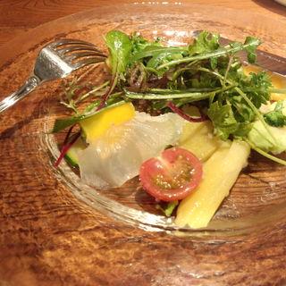 秦野産野菜のサラダ(ビストロ アルブル (Arbre))