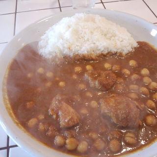 チキンマサラ(+チャナ豆)(Curry House チリチリ )