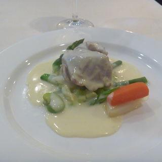 ランチコース(子牛のクリーム煮)(フルール・ド・セル)