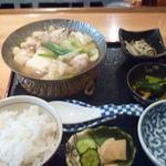 一人鍋のお膳(大山鶏)