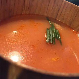あさりのトマトスープ(カフェ フジヌマ (Cafe FUJINUMA))