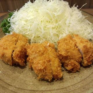 岩中豚のヒレ定食(とんかつ美介)