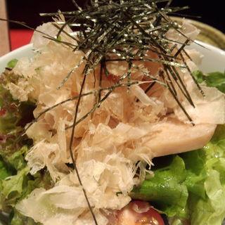 蒸し鶏サラダ(たき八 )