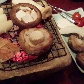 野菜遊び焼(炭火焼 火炉)