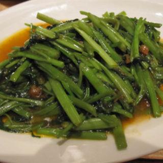 空芯菜の炒め物(パラダイスダイナシティ)