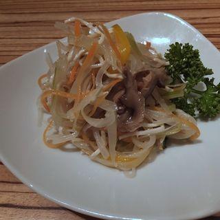野菜のごま油和え(パラダイスダイナシティ)