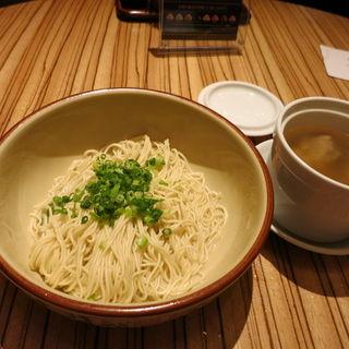 香味和え麺 皇朝特製鶏スープ添え(パラダイスダイナシティ)