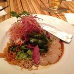 帆立のお刺身サラダ