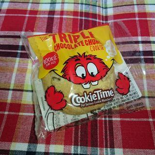 トリプルチョコチャンククッキーミニ(お土産用)(クッキータイム 原宿店 (Cookie Time))