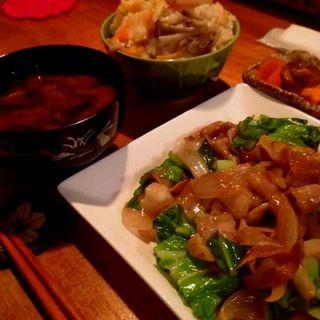 豚パラ炒め定食(HEJIRA)