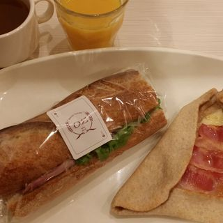 サンドイッチ  スープつき(ブレッドプラントオズ )