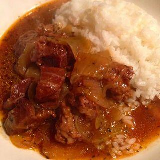 牛ほほ肉とスジのワイン煮込み(HEJIRA)