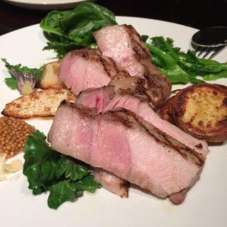 豚肉のステーキ(クーテ)