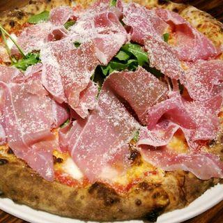 生ハムのピザ(ポルタ・ヌォーヴァ (Porta Nuova))