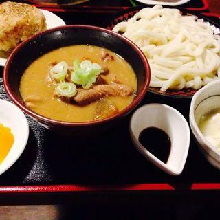 白もつけ麺(宮のバル)