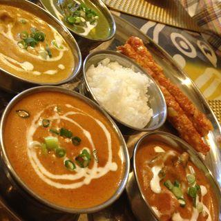 ディナーセット(アグリム 牧野本町店 (インド・ネパール料理))