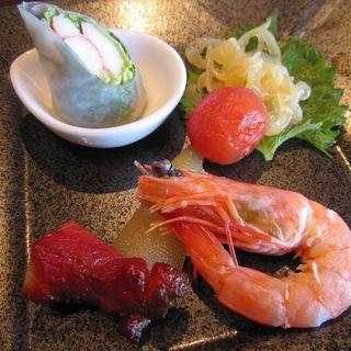 前菜盛り合わせ(中国料理 カリュウ (かりゅう Karyu))