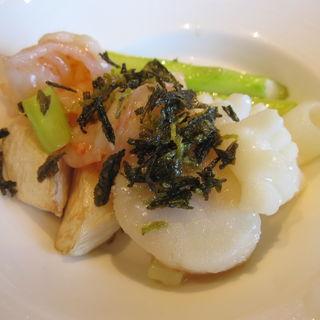 海鮮塩炒め(中国料理 カリュウ (かりゅう Karyu))
