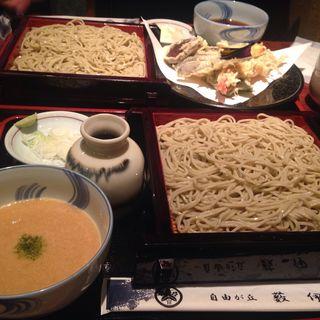 せいろ蕎麦(自由ヶ丘藪伊豆 (じゆうがおかやぶいず))