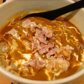 豚肉カレーうどん(虎杖 表店)