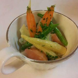 彩り野菜のコールスロー(りべるた食堂 )