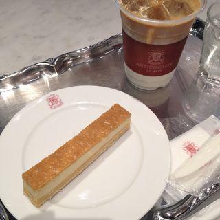チーズケーキ(アンティコカフェ アルアビス なんばパークス店 (ANTICO CAFFE AL AVIS))