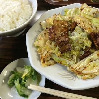 回鍋肉定食(天王 (テンノウ))