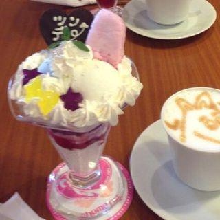 つんでれパフェ(アットほぉ~むcafe ドンキ店 )