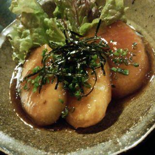 山芋のステーキ(水穂)