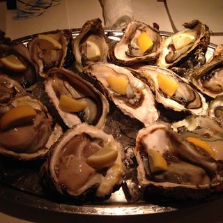 牡蛎3種盛り合わせ(楸 (ひさぎ))