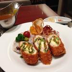 ささみカツカレー(カレーダイニング アビオン (Curry Dining AVION))