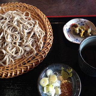 ざる蕎麦(山麓亭お犬茶屋)