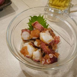 たこぶつ梅肉和え(串カツ田中 川崎店)