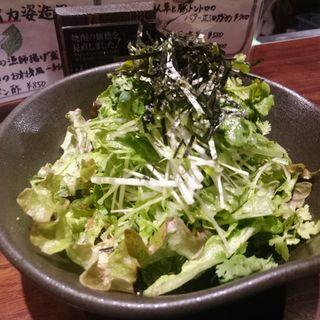 パクチー生レモングリーンサラダ(芋蔵 横浜鶴屋町店)