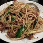 豚肉とピーマン炒め(高華園)