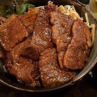直火サーロイン丼(牛や (ぎゅうや))