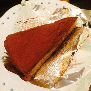チョコクレープ(銀座みゆき館 銀座本店 )
