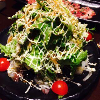 グリーンサラダ(肉の割烹 たむら)