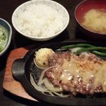 サービスステーキ(牛庵 (ギュウアン))