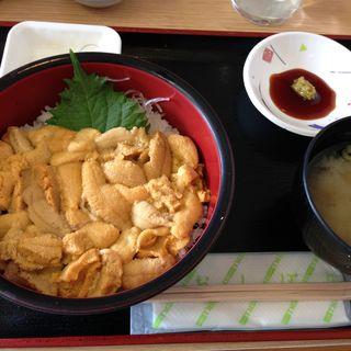 生ウニ丼(みさき)