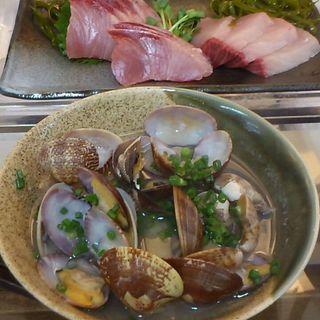 あさりの酒蒸し(魚や 粋 (いき))