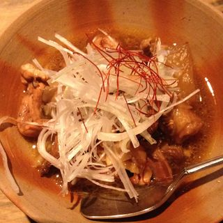 鶏もつの洋風煮込み(地鶏焼 とりや 新宿総本店 (じどりやき とりや))