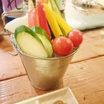 彩り野菜スティック盛り合わせ